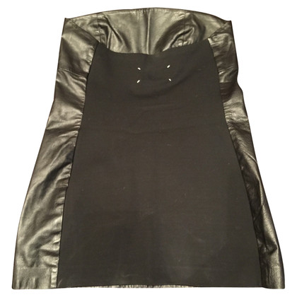 Maison Martin Margiela Leather mini dress