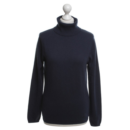 Allude Turtleneck in blue
