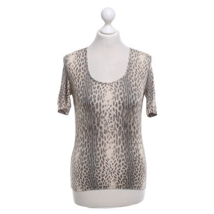 Just Cavalli top with leopard print