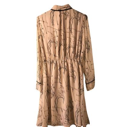 Patrizia Pepe zijden jurk