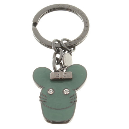 Marc by Marc Jacobs Keychain in antraciet metallic