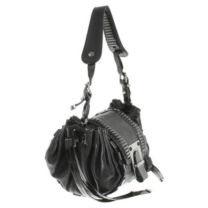 Versace Umhängetasche in Schwarz