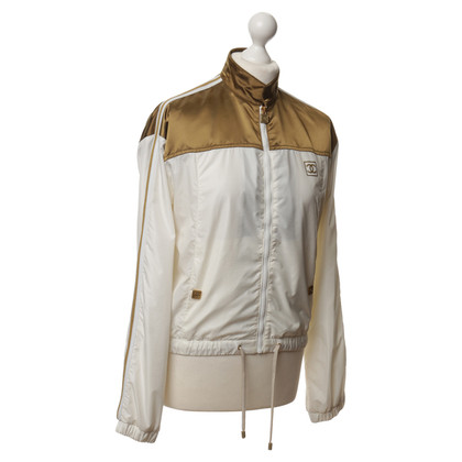 Chanel Light jacket in gold and white