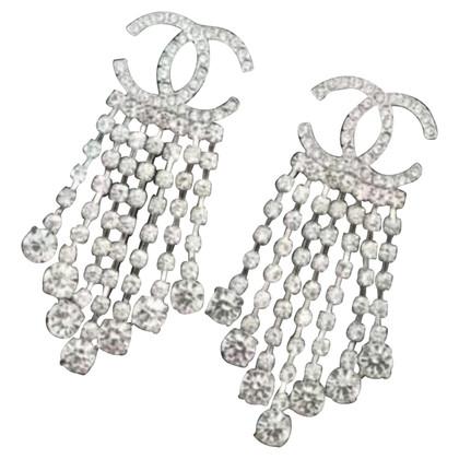 Chanel Zilveren oorbellen