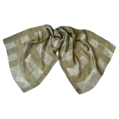 Burberry Cashmere scarf with linen