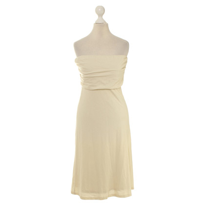 Ralph Lauren Bandeaukleid in cream
