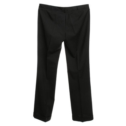 Costume National Wrap-around trousers in black