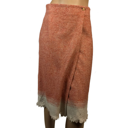 Max Mara Wrap-around skirt wool
