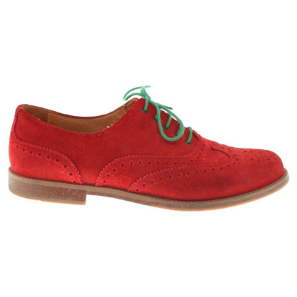 Russell & Bromley pizzo rosso