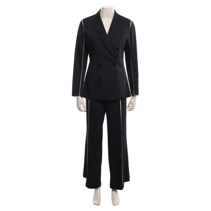 Jean Paul Gaultier Suit with pinstripes