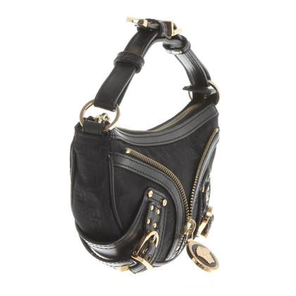 Versace clutch in black