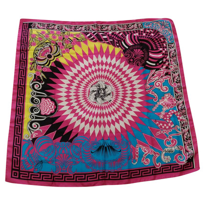 Versace Silk scarf with print