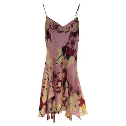 Patrizia Pepe Veelkleurige zijden jurk