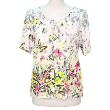 Basler top with butterflies