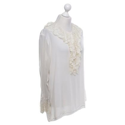 Anna Molinari Blouse with lace