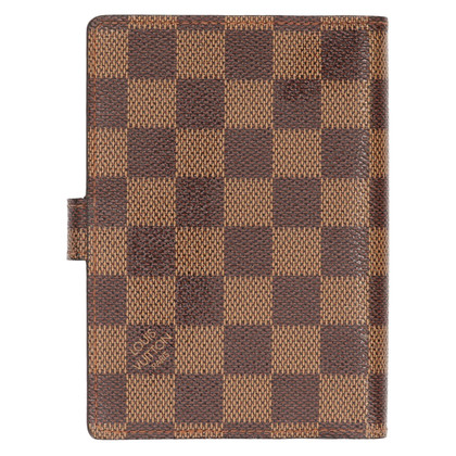 "Louis Vuitton ""Agenda PM Damier Ebene Canvas Fonctionnel"""