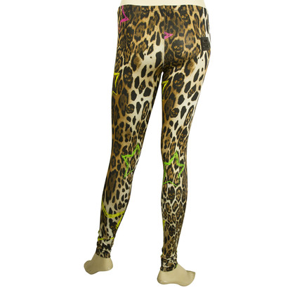 Philipp Plein Leggins Leopard Skinny Pants