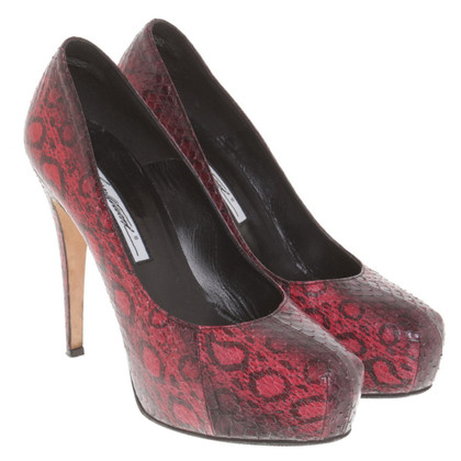 Brian Atwood pumps made of reptile leather