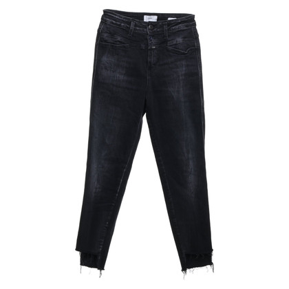 Closed High waist jeans in grey black