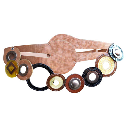Marni Multicolored leather belt