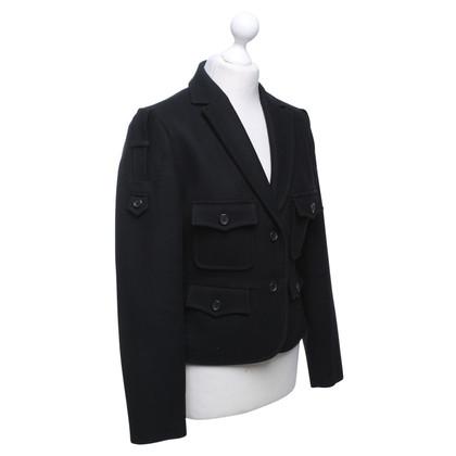 Yves Saint Laurent Jacket in black