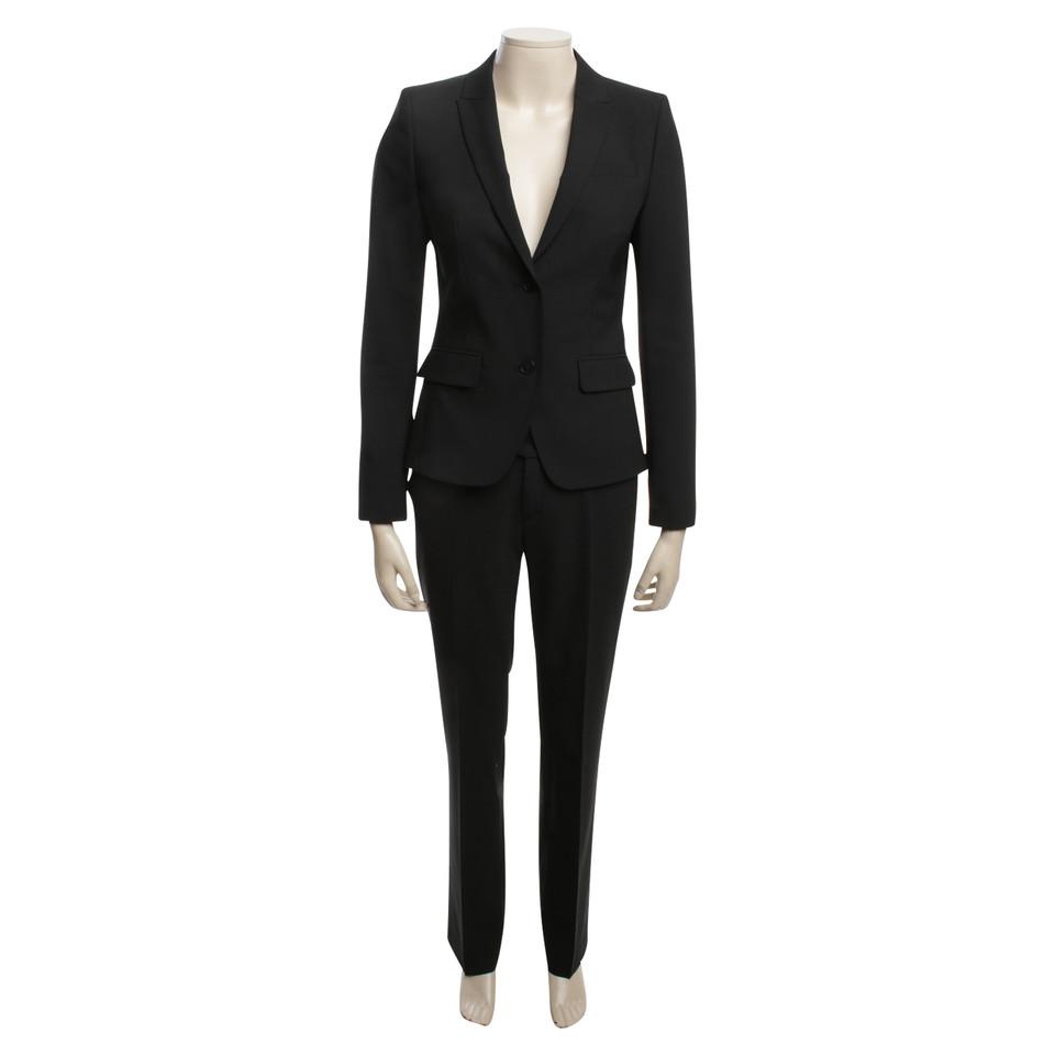 drykorn anzug in schwarz second hand drykorn anzug in schwarz gebraucht kaufen f r 139 00. Black Bedroom Furniture Sets. Home Design Ideas