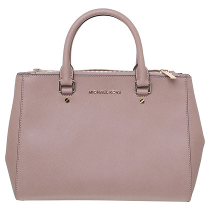 "Michael Kors ""Sutton MD"" handbag in hazelnut Brown"
