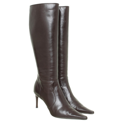 Dolce & Gabbana Boots in dark brown