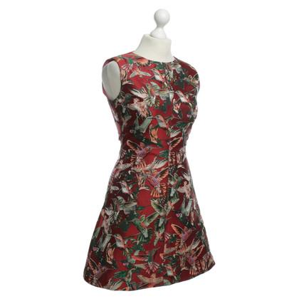 Pinko Kolibrie patroon jurk