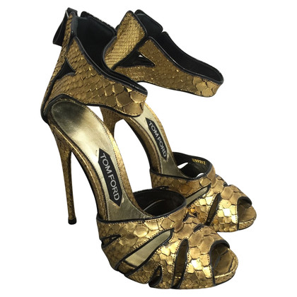Tom Ford Sandals made of python leather