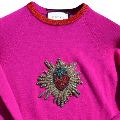 Gucci Sweater with pearl embroidery