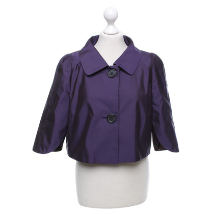 René Lezard Short jacket in purple