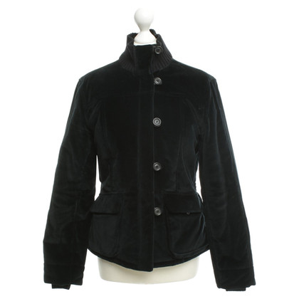 Fay Velvet jacket in black
