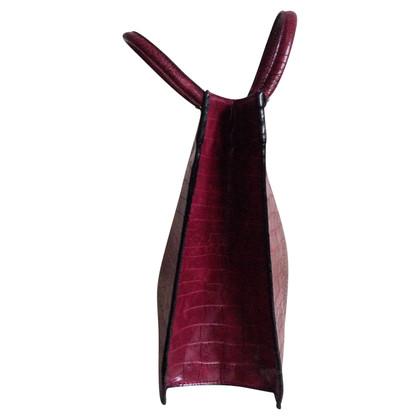 Blumarine Handbag in phyton look
