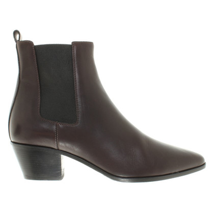 Yves Saint Laurent Ankle boots in dark brown