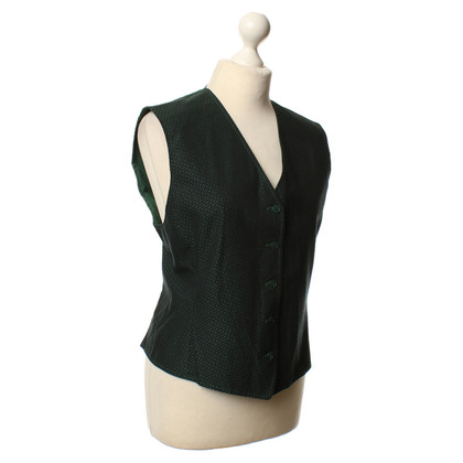 Kenzo Drops sleeveless Cardigan in green