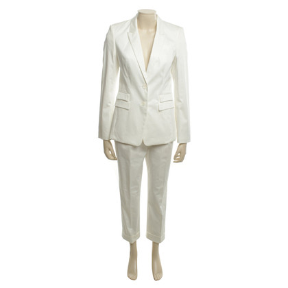 Hugo Boss Tailleur pantalone in bianco