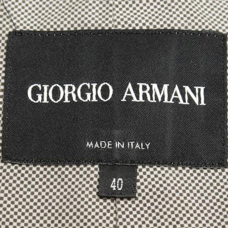 in Armani Leichte Giorgio Beige Giorgio Beige Armani Jacke x6qOwX6z