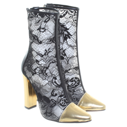 Balmain Ankle boots with lace