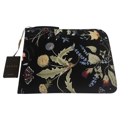 Gucci iPad case with floral pattern