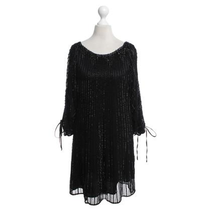 Andere merken Faust - pailletten jurk in zwart