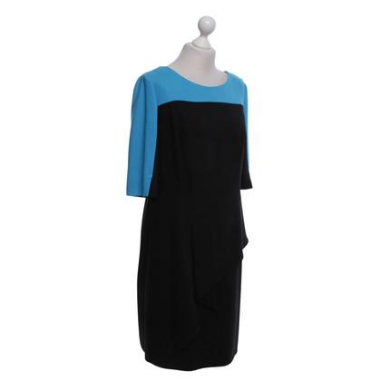 Laurèl Kleid in Schwarz/Blau