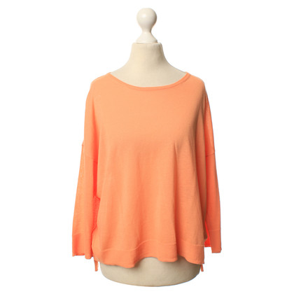 Acne Pullover in bright orange