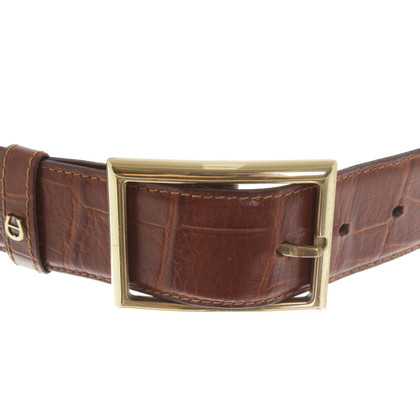 Aigner Cintura in Brown