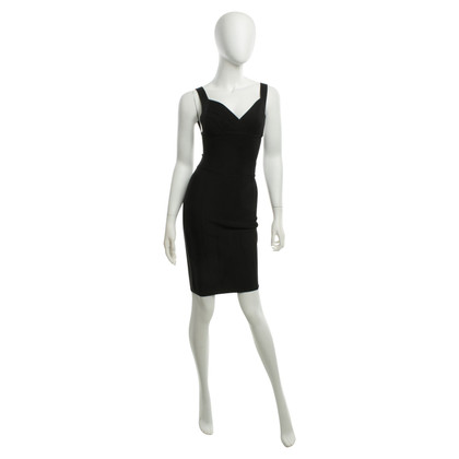 Herve Leger Costume in nero