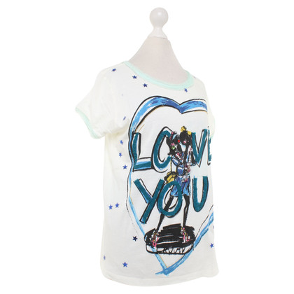 Lanvin T-shirt en blanc