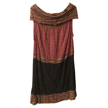 Missoni Robe en laine colorée Missoni