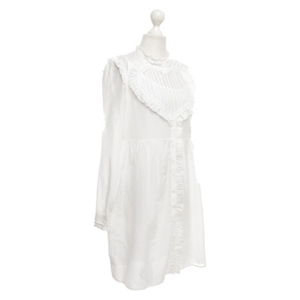 Manoush Blouse dress in white