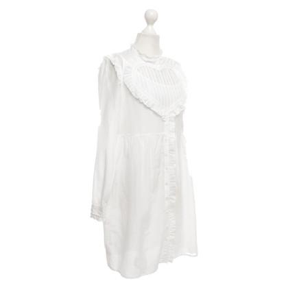Manoush Blusenkleid in Weiß
