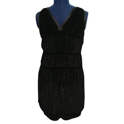 Bally vestito di velluto nero